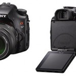 Sony Alpha SLT-A57 - Front & Back