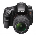 Sony Alpha SLT-A57 - Top Front