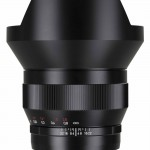 Zeiss 15mm f/2.8 Wide-Angle Lens - With Shade
