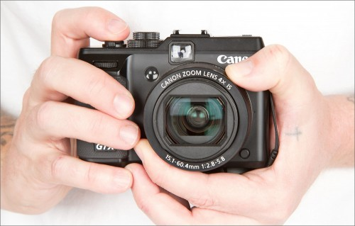 Canon PowerShot G1 X - Front