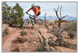 Canon PowerShot G1 X - Moab Mountain Bike Photo