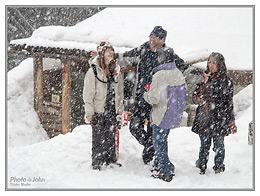 Canon PowerShot G1 X - Snowing