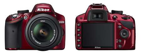 Nikon D3200 HD DSLR - Front & Back