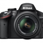 Nikon D3200 - Front - Black