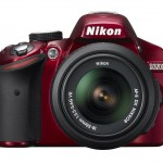Nikon D3200 - Front - Red