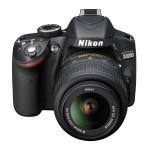 Nikon D3200 - Upper Front View