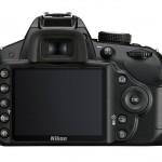 Nikon D3200 - Rear LCD - Black