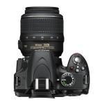 Nikon D3200 - Top View