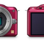 Panasonic Lumix GF5 - Front & Back