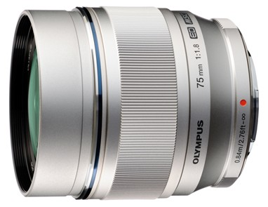 New Olympus M.Zuiko Digital ED 75mm f/1.8 Prime Lens