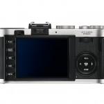 Leica X2 Camera - Silver - Rear LCD Display