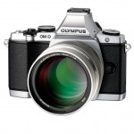 New Olympus 75mm f/1.8 Micro Four Thirds Prime With Silver OM-D E-M5