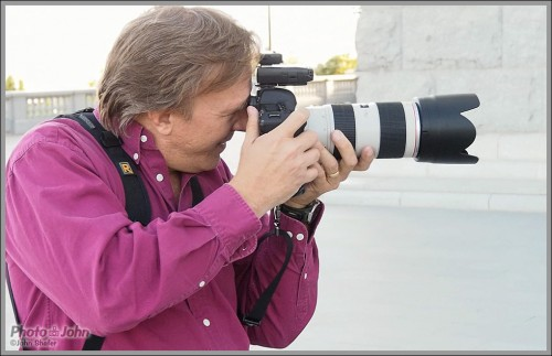 Photographer David Terry, In Action