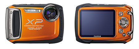 Fujifilm FinePix XP170 Waterproof Wireless Camera - Front & Back Photos