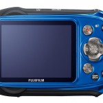 Fujifilm FinePix XP170 - Blue - Rear LCD Display