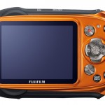 Fujifilm FinePix XP170 - Orange - Rear LCD Display