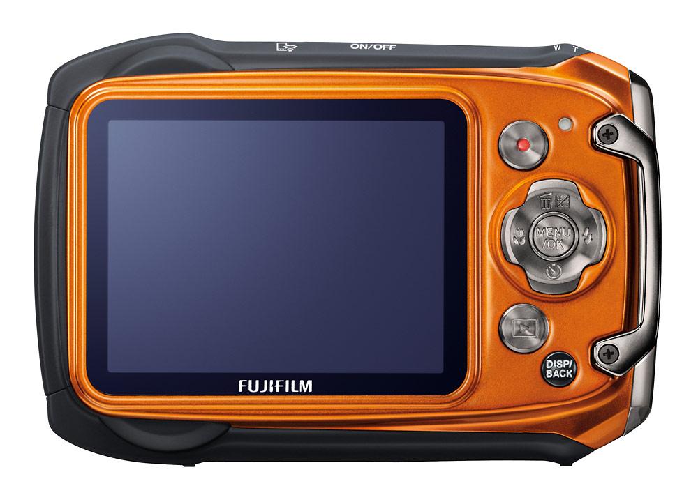 Fujifilm FinePix XP170 - Orange - Rear LCD Display