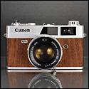 Lustworthy – Wood Veneer Vintage Rangefinder Cameras