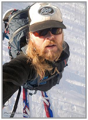 Nikon Coolpix AW100 - Backcountry Self-Portrait