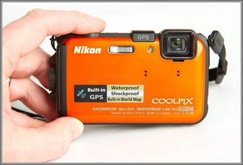 Nikon Coolpix AW100 Waterproof P&S Camera