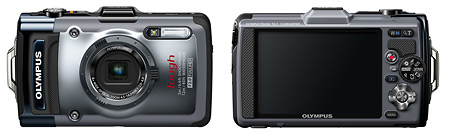 Olympus Tough TG-1 iHS Camera - Front & back