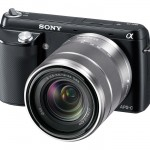Sony Alpha NEX-F3 - Black