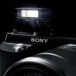 Sony Alpha NEX-F3 - New Pop-Up Flash