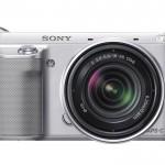 Sony Alpha NEX-F3 - Front - Silver