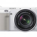 Sony Alpha NEX-F3 - Front - Silver