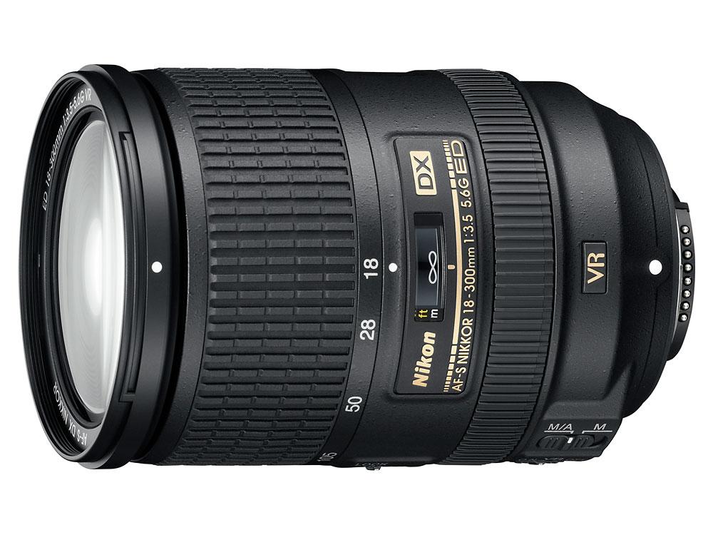 Nikon AF-S DX Nikkor 18-300mm f/3.5-5.6G ED VR Zoom Lens