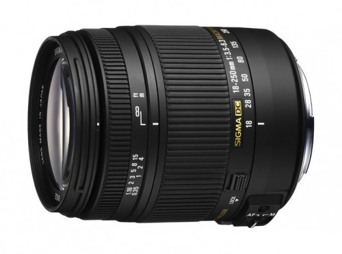 Sigma New 18-250mm F3.5-6.3 DC Macro OS HSM Compact All-Purpose Zoom Lens