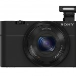 Sony CyberShot RX100 with Pop-Up Flash
