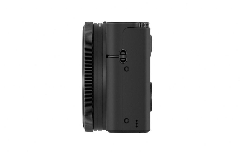 Sony CyberShot RX100 - Side View