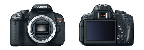 Canon EOS Rebel T4i / 650D - Front & Back