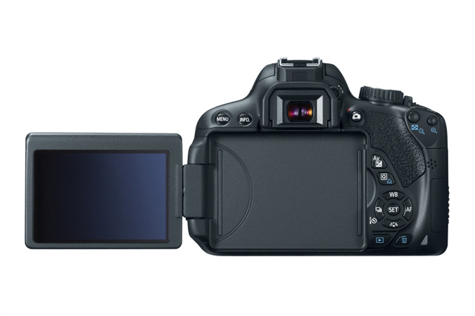 Canon EOS Rebel T4i / 650D & 3-inch Vari-Angle Touchscreen LCD Display