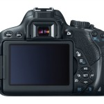 Canon EOS Rebel T4i / 650D - Rear View