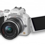 Panasonic Lumix G5 - White - With Tilt-Swivel Touch Screen Display