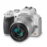 Panasonic Lumix G5 - White - With New 45-150mm Zoom Lens