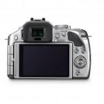 Panasonic Lumix G5 - Rear LCD - Silver
