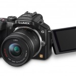 Panasonic Lumix G5 - Black - With Tilt-Swivel Touch Screen Display