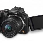 Panasonic Lumix G5 - Black - With Tilt-Swivel Touch Screen Display