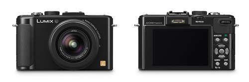 Panasonic Lumix LX7 - Front & Back