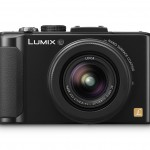 Panasonic Lumix LX7 Premium Compact Camera - Front View