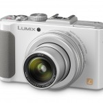 Panasonic Lumix LX7 Premium Compact Camera With f/1.4 Leica Zoom - White