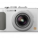 Panasonic Lumix LX7 Premium Compact Camera - Front View - White