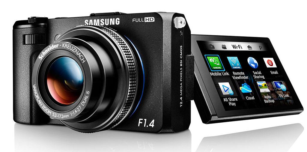 Samsung EX2F Wi-Fi Smart Digital Camera