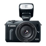 Canon EOS M With New Speedlite 90EX Compact Hot Shoe Flash