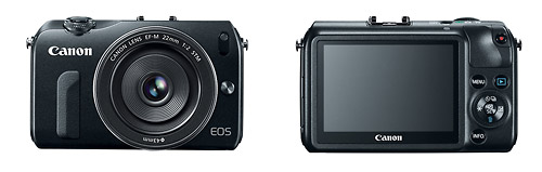 Canon's New EOS M Mirrorless System Camera - Front & Back