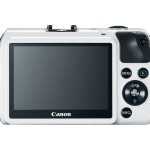 The Canon EOS M With 3-inch Touch Screen LCD Display - White