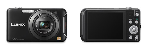 Panasonic Lumix SX5 Wireless Pocket Superzoom - Front & Back
